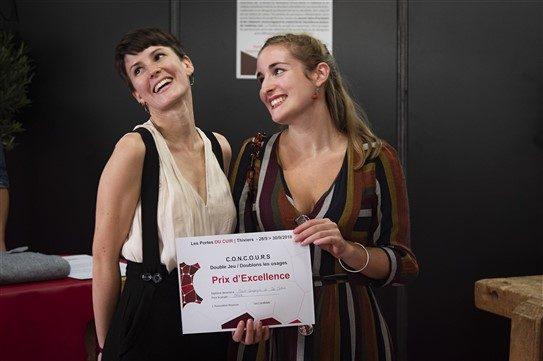 Marie Campergue et Zoé Mataix